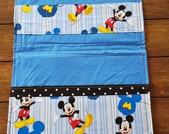 Mickey Mouse Pattern - Coloring Book Caddy
