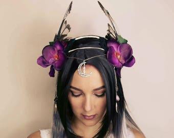 Sorceress winged headdress
