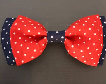 Fly red/black with white dots to dots