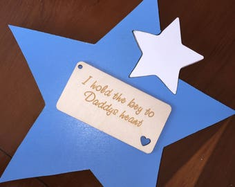 Star free standing chunky plaque