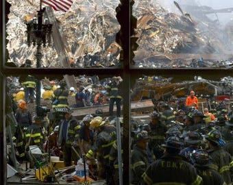 Glossy Reproduction photo of  911 Ground Zero 9
