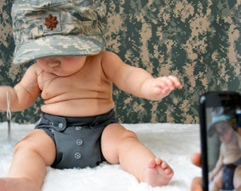 Military Baby Photo Booth, Monthly Baby Photos, Baby Photo Props, Baby Picture, Baby Photo, Baby Shower, Monthly Baby Blanket, Baby Gift,