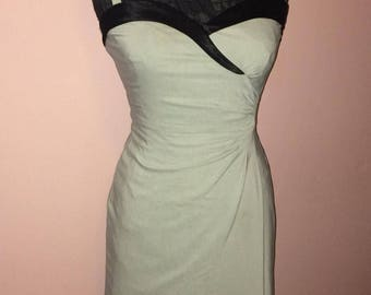 stop staring dress,size small, black and grey