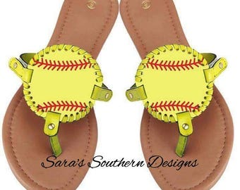 Softball and Football Sports Sandals