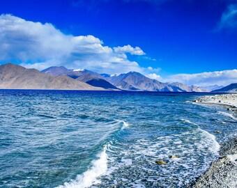 Pangong Tso Lake, Ladakh, India
