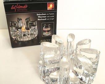 Bel Mondo Art Glass Candle Warmer Germany GeorgShutte Belmondo Orig Box