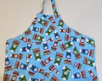 Child's Thomas the Train Apron size 3/4  (#445)