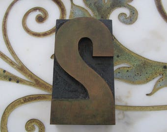 Number Two Antique Letterpress Wood Type Printers Block