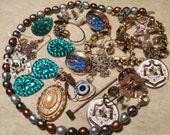 Vintage Repurpose Jewelry Lot