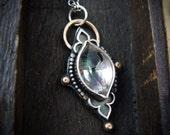 mystic ... mystic quartz pendant