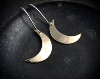 moonshine ... mixed metal earrings