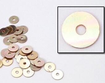 4mm Metallic Copper Flat Sequin (1000 Pcs) #6513
