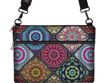 Laptop Bag 13 inch Laptop Sleeve Macbook Pro Case for Women, MacBook Pro 13 Sleeve, Acer Aspire S 13, Surface Book & more, Boho Mandala MTO