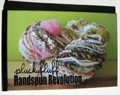 How to Spin Art Yarn Book,  Handspun Revolution by Lexi Boeger