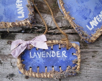 LAVENDER SIGN PLAQUE