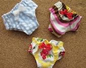 3 panties for Blythe, Lati Yellow, Ming, Meng and Mong  SET A