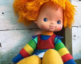 Large Rainbow Brite Doll by Hallmark 1983 Vintage