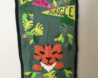 Welcome to the Jungle Quilted Wall Hanging