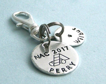 Personalized NAC NOC RNC 2017 Akc National Championship Commemorative Charm