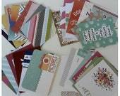 Project Life Cards Destash Pocket Album Memory Journaling Cards