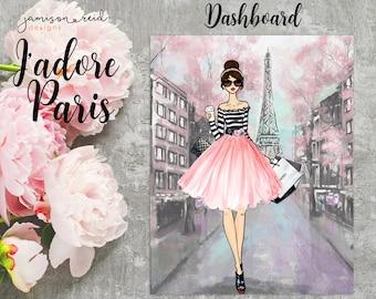 J'adore Paris Dashboard | choice of skin tone/hair color