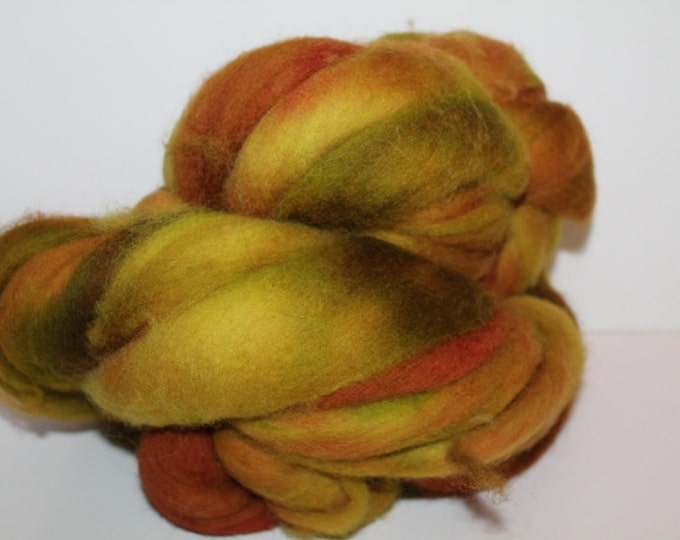 Kette Dyed Cheviot wool top. Roving. Spin. Felt.  1lb. FREE SHIP #C7