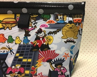 Kawaii City Snappy Pouch - 3 Sizes