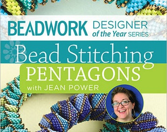 Bead Stitching Pentagons With Jean Power