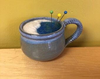 Moon Teacup Pincushion