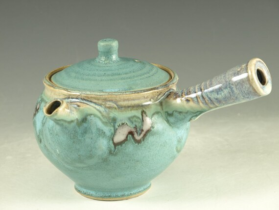 Kyusu Teapot - Japanese style loose green tea teapot