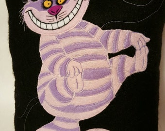Limited Edition CHESHIRE CAT Pillow Christmas Alice in Wonderland