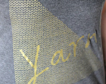 Yarn! Roundneck Relaxed Fit T-Shirt GOLD