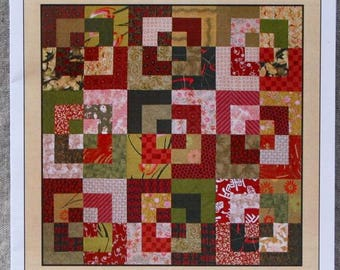 Quilt Pattern - Bento Box by Tracey Brookshier