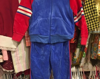 1980s Baby Tracksuit 9/12 Months