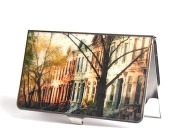CARD CASE - Brooklyn Brownstones - ID Case - Cardcase