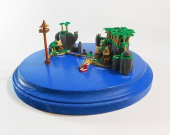 Legend of Zelda  Windwaker Outset Island Diorama Miniature scene