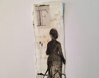 Bookmark - french Lady