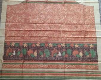 Fall Apron Fabric Panel