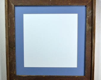 Picture frame with mat for 12x12,14x14,11x14,8.5x11 20 mat colors too choose from