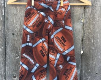 Football Anti Pill Fleece Yoga Pants