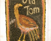 Old Tom rug hooking pattern - PDF - from Notforgotten Farm™