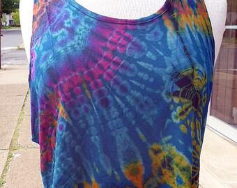 Tie Dye Crop Top Womens Clothing  Festival Clothes  Hippie Top Boho Teens