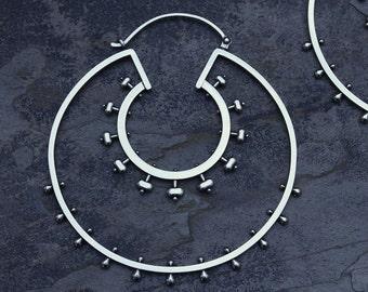 XL Double Belle Hoops