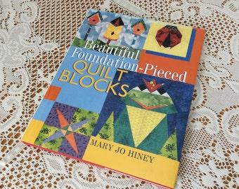 Beautiful Foundation Pieced Quilt Blocks Book