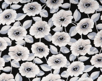 4278 - Chic Floral Cotton Fabric - 59 Inch (Width) x 1/2 Yard (Length)