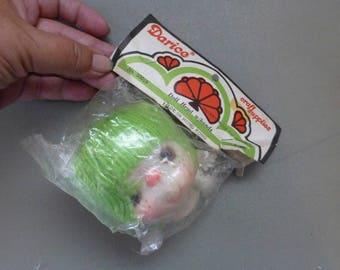 Darice 3 Inch Yarn Hair Doll Head & Hands Set