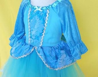 CINDERELLA  dress, Cinderella costume, winter Cinderella costume,  Princess dress with  TUTU dress