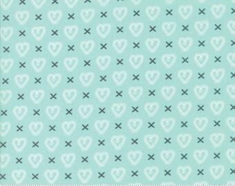 Sugar Pie (5043 15) Aqua Cross my Heart by Lella Boutique