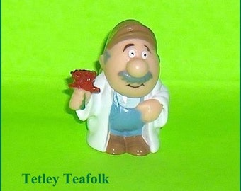 ON SALE   Tetley Teafolk Gordon the Gardener Tetley Tea Promotions England
