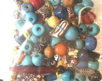 Rare Chipped Trade Bead Destash